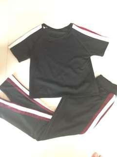 Terno trackpants and shirt