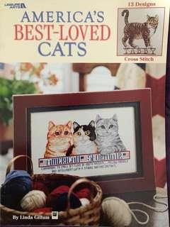 Cat Cross Stitch Book