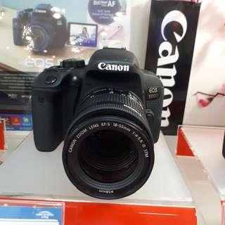 Kamera Canon EOS 800d MURAH (Kredit DP 0%)