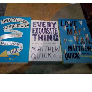 Matthew Quick Books, Warcraft and Pan Artbook