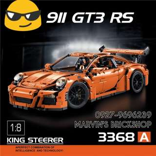 Brand New TECHNIC PORSCHE 911 GT3 RS Building Blocks Toy