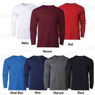 Long Sleeve Dri Fit Round Neck T-Shirt