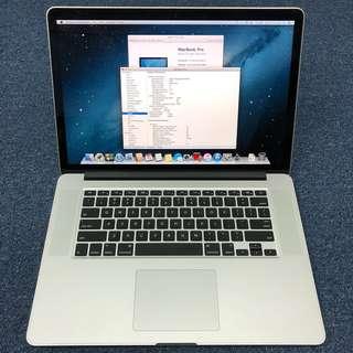 Apple MacBook Pro 15 Retina (Early 2013)