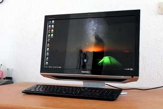 Toshiba all in one pc core i5 21.5 full hd 500gb hdd Free Deliver