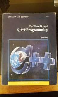 The Waite Group's C++ Programming by John Barry (Howard W. Sans & Company)