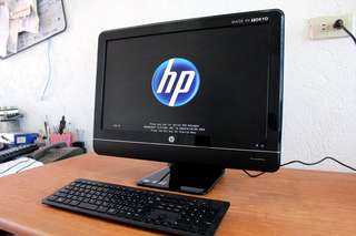 Hp all in one pc core i5 2nd gen quadcore windows 10 23inch led Free deliver