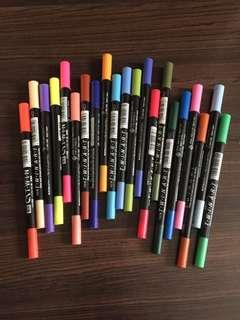 CAT.W.I.N 2 sided X 21 color pens