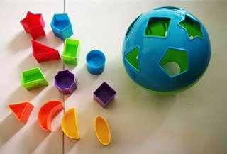 Baby shape toys