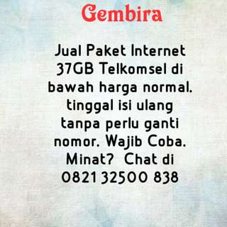 Paket Kuota Internet Telkomsel