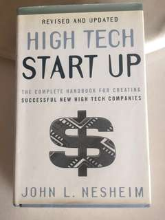 Complete Handbook- High Tech Start Up