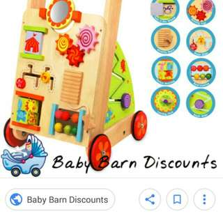Take all wooden toys