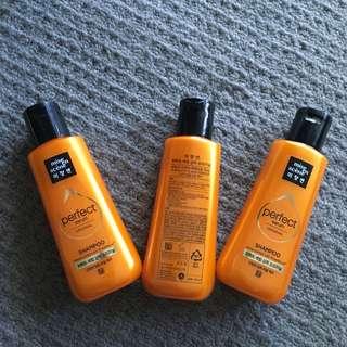 Mise en scene Shampoo