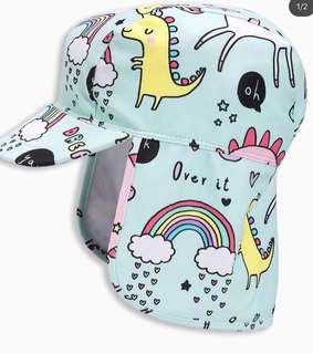 Next dino swim hat brandnew