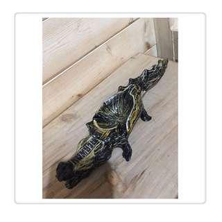 🚚 鱷魚 煙灰缸