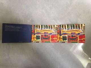 [包平郵]1998 地鐵記念車票