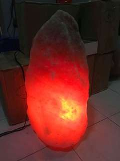 Natural Shape Himalayan Salt Lamp Giant size