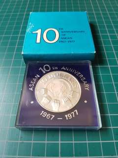 10th Anniversary of ASEAN 1967-1977 $10