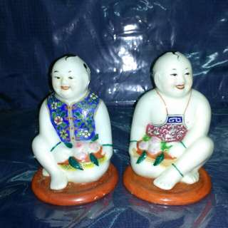 Vintage China made Figurines