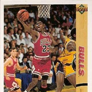 1991-92 Upper Deck Michael Jordan Basketball Card #44