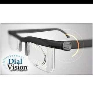 Kacamata dial vision bisa minus atau plus