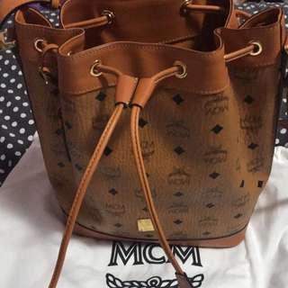 MCM bucket bag