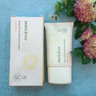 Innisfree No Sebum Sunscreen