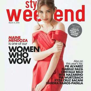 Style Weekend maine mendoza
