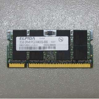 Desktop RAM DDR1, 2 & Laptop RAM DDR2