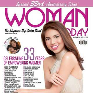Woman Today magazine Maine Mendoza