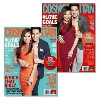 Cosmopolitan magazine Aldub specials