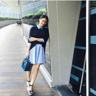 Heart Evangelista Polo Dress