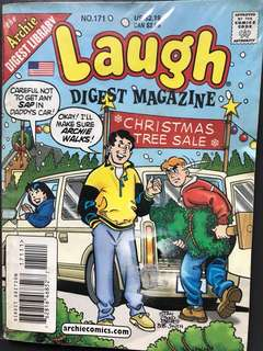 Limited Archie comics; Laugh Digest Magazine issue 171