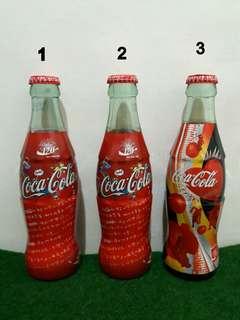 🚚 [收藏]2006年可口可樂 120週年 復古紀念瓶 /滿瓶/玻璃瓶
