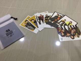 Exo Kolon Sport Postcards Set