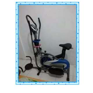 Orbitrack Crosstrainer 5 Fungsi Sepeda Fitness Termurah