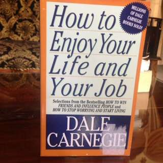 How to enjoy your life and job book