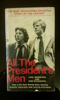 All The President's Men By (author)  Carl Bernstein , By (author)  Bob Woodward