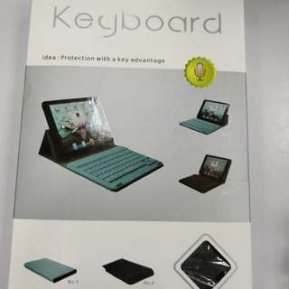 Bluetooth keyboard for pad with leather case