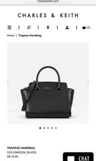 Charles and Keith hangbag