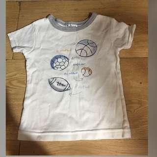 Ball Designed Baby Shirt