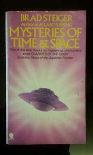 Mysteries time and space By (author)  Brad Steiger