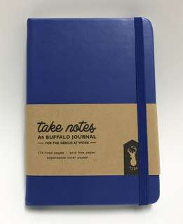 A6 Typo Journal Notebook