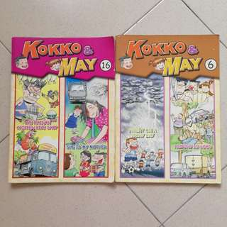 KOKO & MAY ENGLISH COMIC