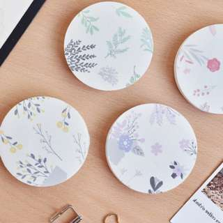 BN Instocks Floral Post Its