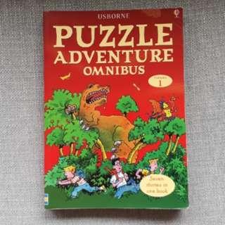 Usborne Puzzle Adventure Omnibus Vol. 1