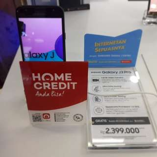 Galaxy J3 Pro Promo Free Adm Cicilan Cepat