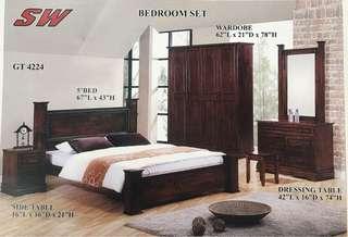 Bedroom Set solid wood