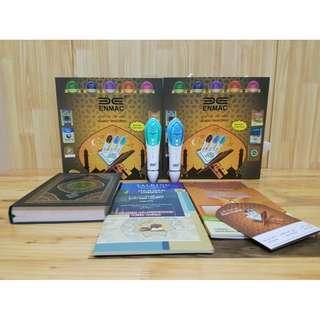 Al Quran ENMAC PQ 66 Dan PQ 99 Digital Pen Reader Bahasa Indonesia