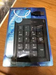賣numeric keyboard