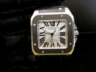 PREOWNED CARTIER Santos 100XL Automatic,  38mm Mens Watch